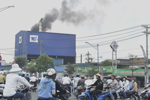 HCM City, Da Nang, air pollution, treatment, economic zones