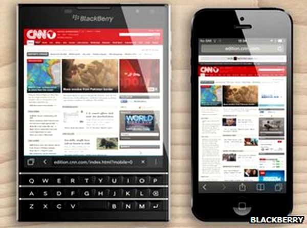 Blackberry Passport introduces dual-control keyboard