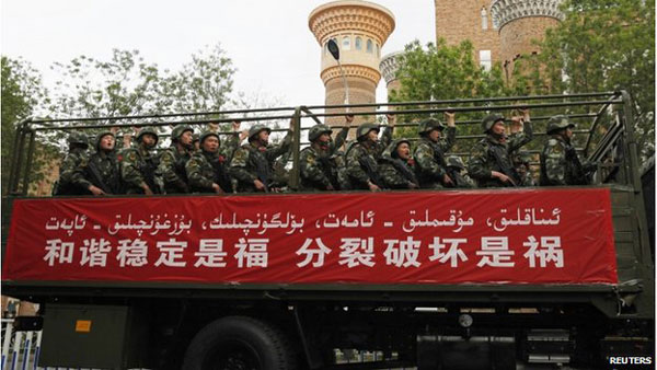 Xinjiang unrest: China raises death toll to 50