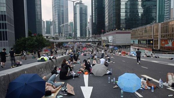 China issues warning over Hong Kong 'illegal' protests