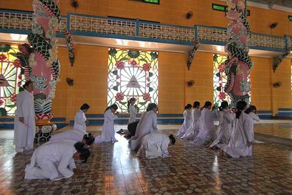 Tay Ninh, Cao Dai Temple, religious destination, pilgrims