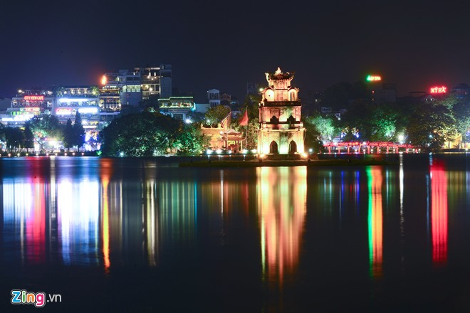 Pictures: Hanoi beautified for the 60th Liberation Anniversary