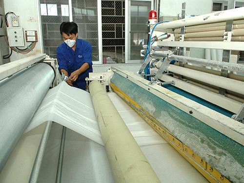 polluting paper factories