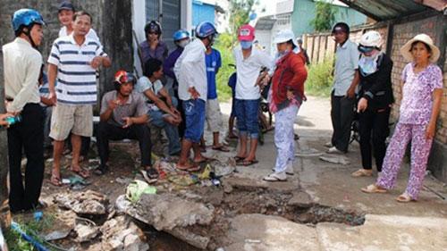 Mekong Delta, dump waste, Seafood factory, garment factories