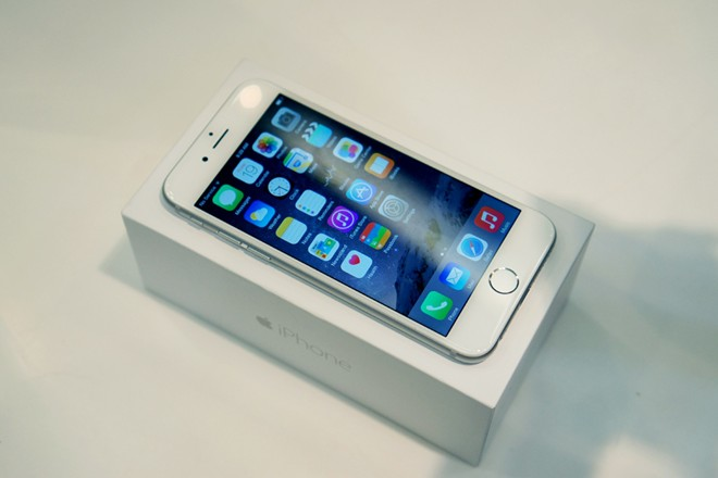 Locked iPhone 6
