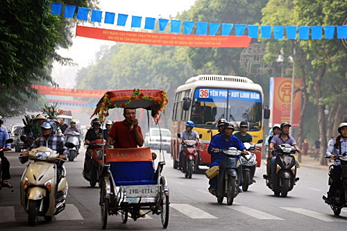 Streets named after kings in Hanoi