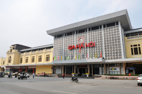 Images: Hanoi Railway Station gets facelift