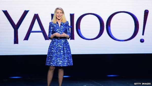 Yahoo profits surge on earnings from Alibaba sale