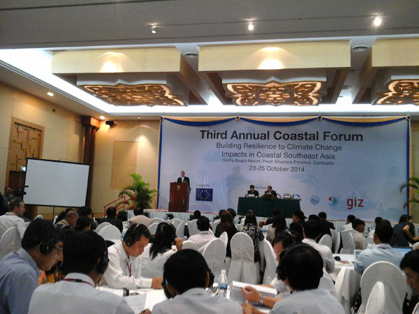 SEA countries share experience on building resilience to climate change impacts