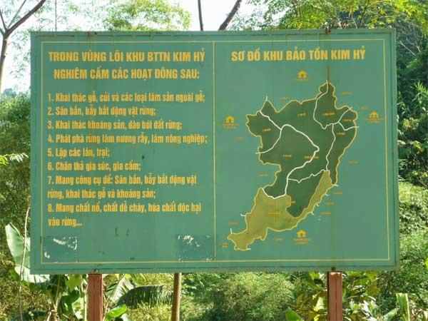 Bac Kan, Kim Hy park, gold mining, illegal exploitation
