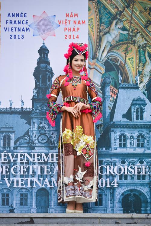 Vietnamese Ao Dai to be shown in France