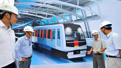 HCM City to train people abroad for metro line work