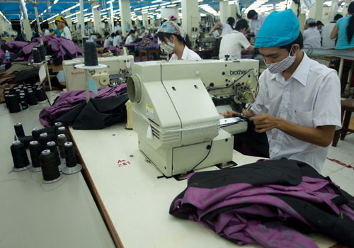 Foreign investment increases in textile-garment projects