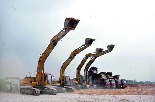 Slow site clearance deters investors