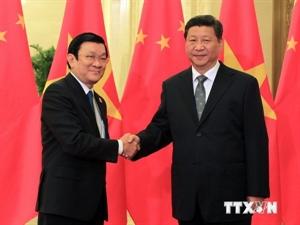 Truong Tan Sang, Xi Jinping