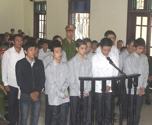 Ha Tinh sentences rioters to prison