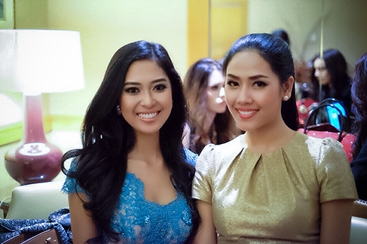 First pictures of Nguyen Thi Loan at Miss World 2014 pageant