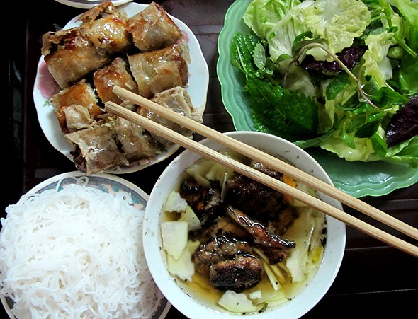 Vietnam's bun cha listed top 10 world's best street food