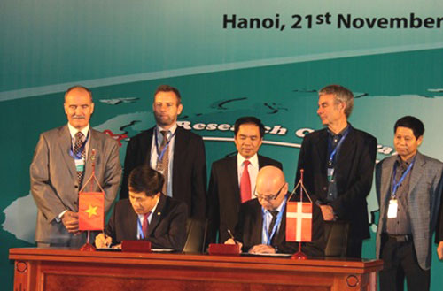 Vietnam and Denmark ink geological research agreement