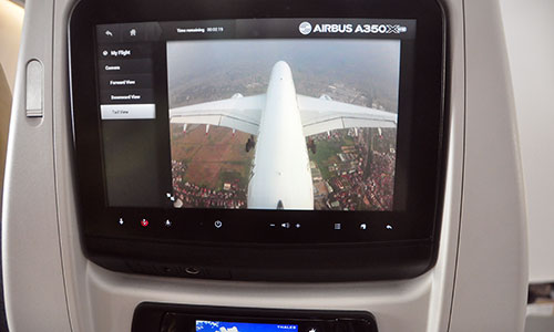 Airbus A350 XMB, Vietnamese airspace
