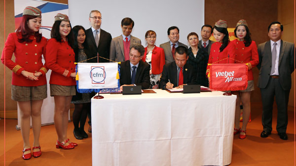 Vietjet Air and CFM International ink $300 million deal