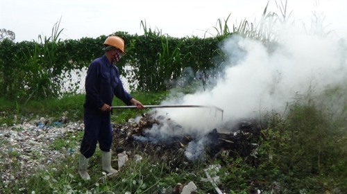 Waste treatment plant turns into garbage dump