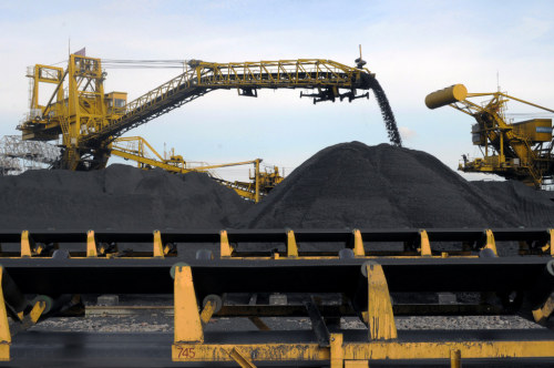 Vietnam National Coal and Mineral Industries Group, coal export