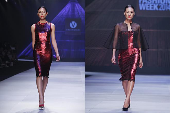 Adrian Anh Tuan, vietnam international fashion week 2014