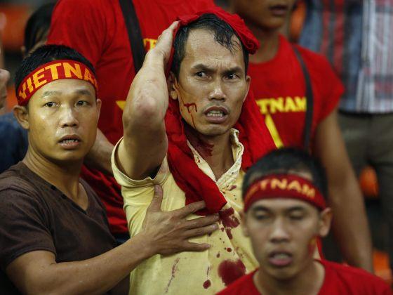 malaysia 1-2 vs vietnam piala aff 2014