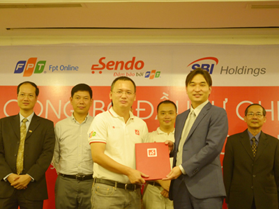 SBI Holdings Inc, Econtext ASIA Ltd and BEENOS Inc., FPT