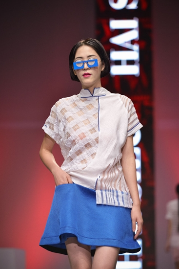 Sporty collection by 17-year-old designer