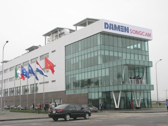 Damen, Song Cam shipyard, SBIC