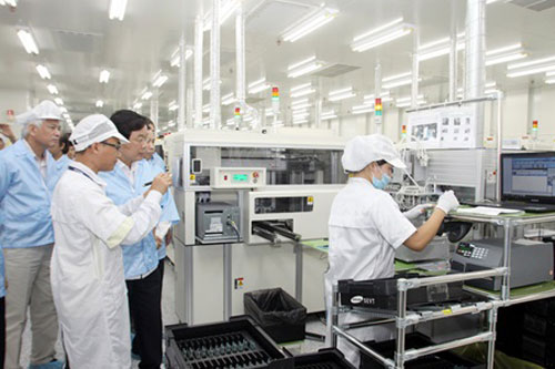 Viet Nam, Samsung Electronics, smartphone, supporting industry