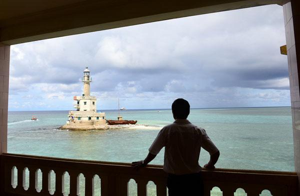 Bui Van Niem, lighthouse guard, truong sa, spratly islands