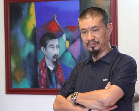 Dao Hai Phong's paintings on display in Thailand