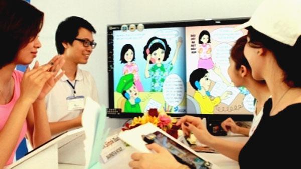 E-book market, book market, Vietnamese readers