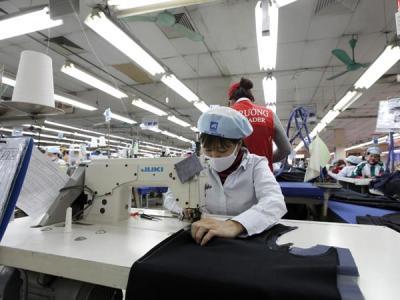 Vietnam, textile and garment, FDI, IZ