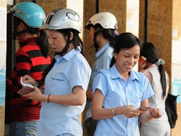 Labour inspectors, overdue salaries, commercial bank
