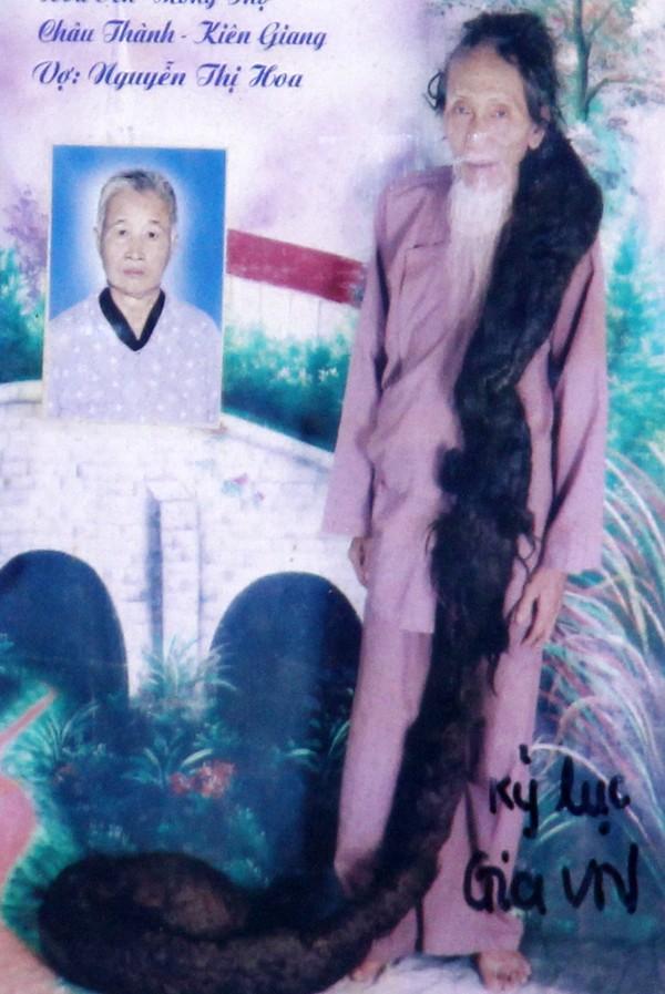 tran van hay, world longest hair