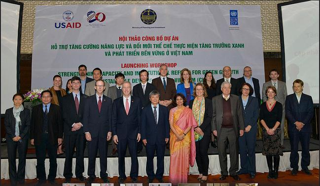 MPI, UNDP, USAID, project for green growth