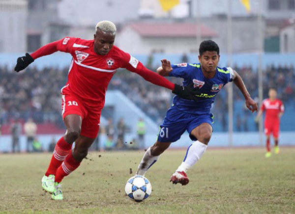 Binh Duong strong on top of V-League with 4th win