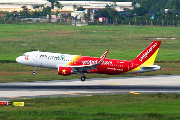 Vietjet offers zero airfare for latest domestic routes