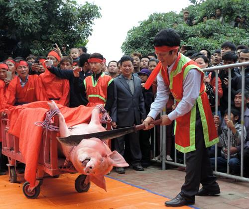 VN should discard conservative views on pig-chopping rite: Ministry of Culture