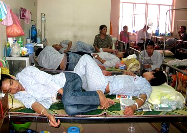 The poor still miss out on healthcare in Vietnam