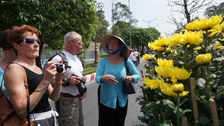 Tourists experience Mekong Delta during Tet festivities