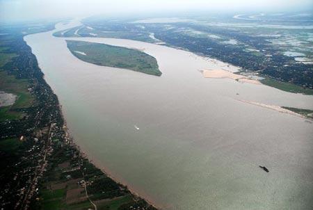 Mekong River damming