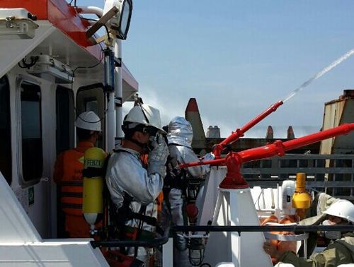fire on Panama ship, Golden 168, Viet Nam Maritime Rescue and Co-ordination Centre