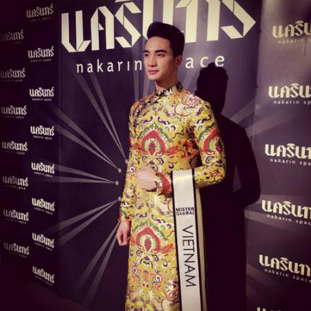 VN Taekwondo player crowned Mister Global 2015
