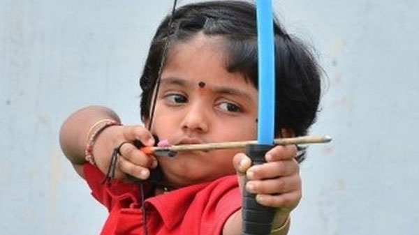 Indian two-year-old sets national archery record
