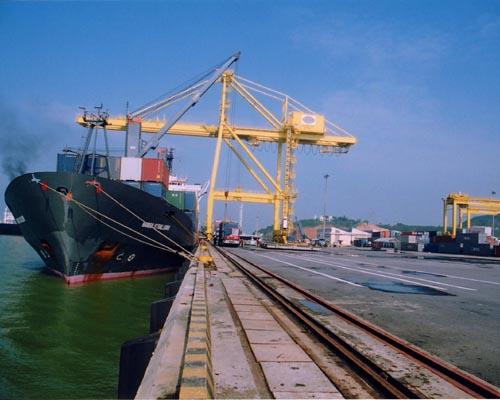 Vietnam, Tien Sa Port, ODA